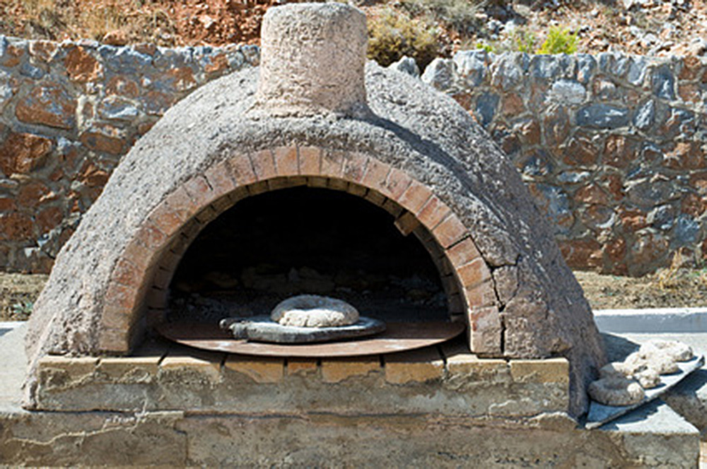 石窯の煙突
